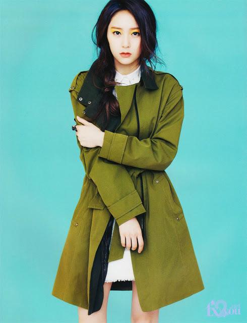 Krystal f(x) for Vogue Magazine [March 2013 Issue] | RahmTalks F(x) Krystal 2013