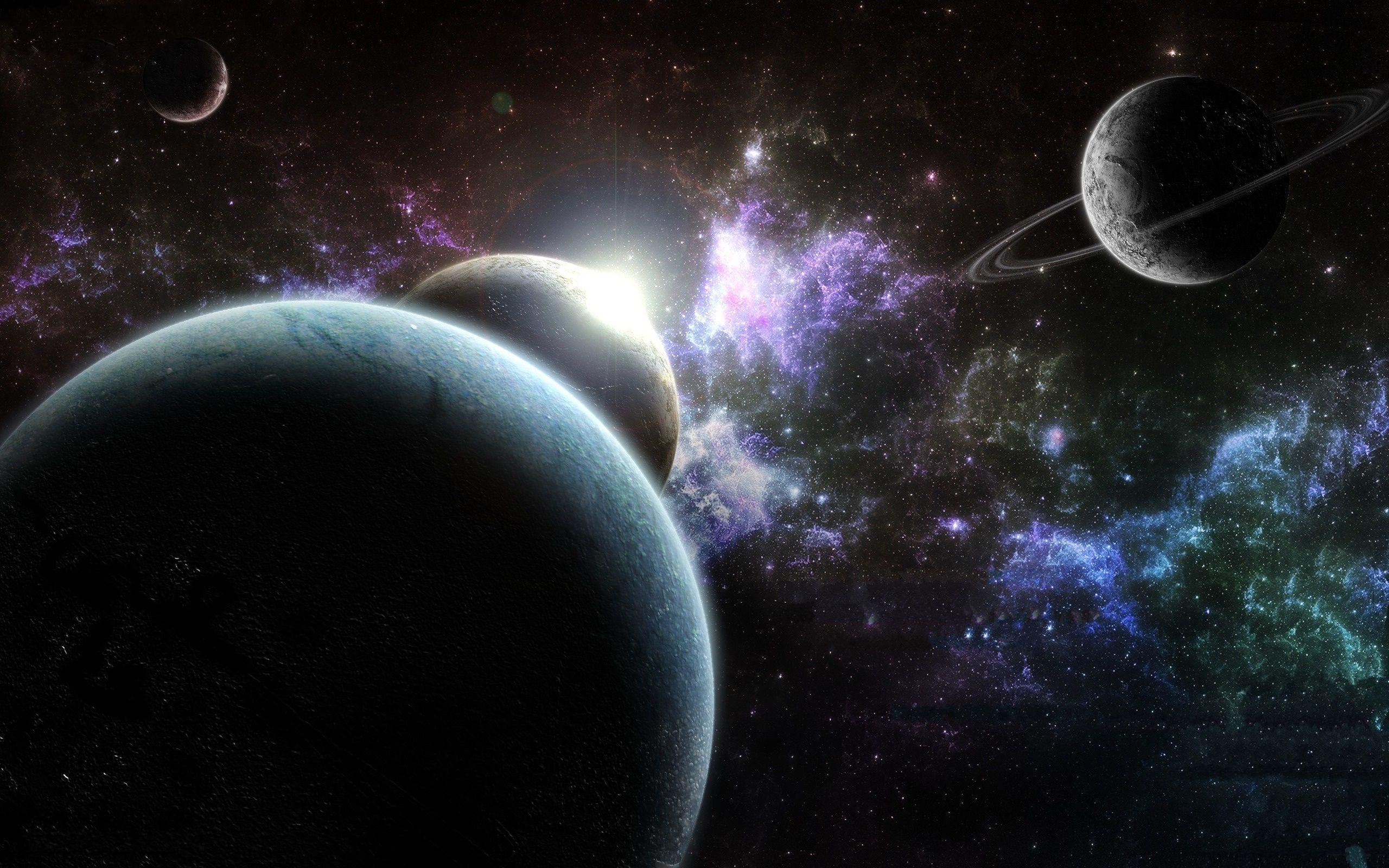 The Universe Planets Nebula